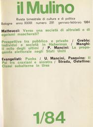 Copertina del fascicolo dell'articolo Moderati convinti e progressisti con riserve: il Psi tra craxiani e sinistra