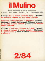 Copertina del fascicolo dell'articolo I tentativi italiani di