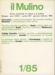 Copertina del fascicolo dell'articolo L'antiamericanismo del Vecchio Mondo