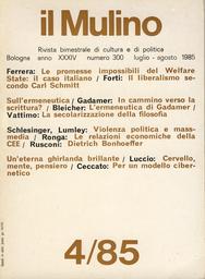Copertina del fascicolo dell'articolo Violenza politica e mass-media