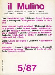 Copertina del fascicolo dell'articolo Dal
