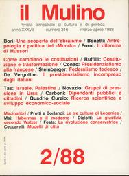 Copertina del fascicolo dell'articolo Il presidenzialismo incompreso dagli italiani