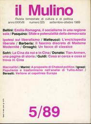 Copertina del fascicolo dell'articolo Il socialismo in una regione sola. Il Pci e il governo dell'industria in Emilia-Romagna