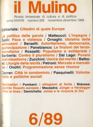 Copertina del fascicolo dell'articolo Populismo e solidarietà: agitare prima dell'uso