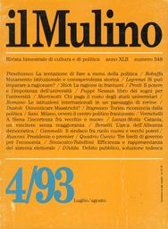 Copertina del fascicolo dell'articolo Torino: una città che ricomincia dalla politica