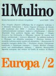 Copertina del fascicolo dell'articolo Una politica fiscale per l'Unione
