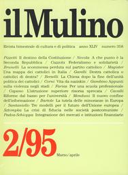 Copertina del fascicolo dell'articolo Una democrazia in ristrutturazione