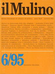 Copertina del fascicolo dell'articolo Tecnopolitica. Il cyberpunk e le ideologie di fine millennio