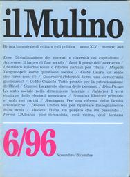 Copertina del fascicolo dell'articolo Tangentopoli, una questione sociale