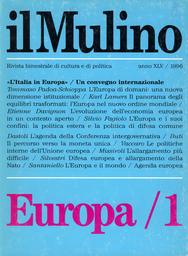 Copertina del fascicolo dell'articolo L'evoluzione dell'economia europea in un contesto aperto
