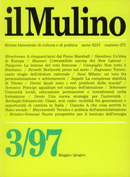 Copertina del fascicolo dell'articolo Classi, non caste. Mobilità tra generazioni e opportunità di carriera in Italia
