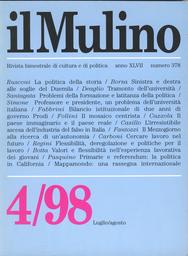 Copertina del fascicolo dell'articolo Sinistra e destra alle soglie del Duemila