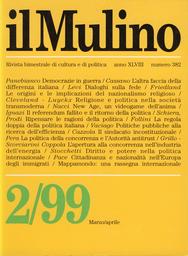 Copertina del fascicolo dell'articolo La politica della concorrenza e l'Autorità antitrust in Italia
