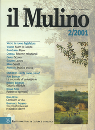 Copertina del fascicolo dell'articolo La sanità dopo la riforma Bindi