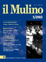 Copertina del fascicolo dell'articolo Le elezioni francesi del 2002: