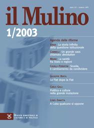 Copertina del fascicolo dell'articolo La Fiat dopo la Fiat
