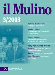 Copertina del fascicolo dell'articolo Parola mia. La retorica di Silvio Berlusconi