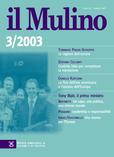cover del fascicolo, Fascicolo arretrato n.3/2003 (maggio-giugno)