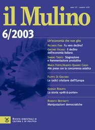 Copertina del fascicolo dell'articolo La democrazia alla prova della scienza