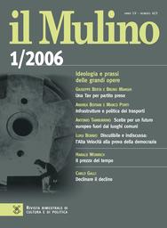 Copertina del fascicolo dell'articolo Il destino della non-città