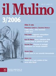 Copertina del fascicolo dell'articolo I diritti umani in una comunità internazionale
