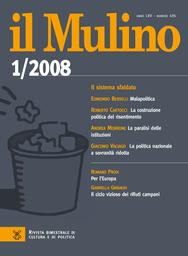 Copertina del fascicolo dell'articolo 2008, perché non scoppia la rivoluzione giovanile?