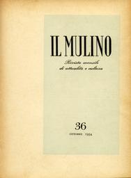 Copertina del fascicolo dell'articolo L'opinione pubblica europea e l'ascesa al potere di Mussolini