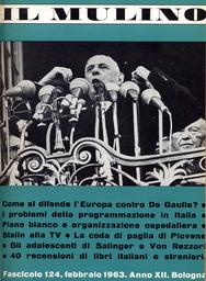 Copertina del fascicolo dell'articolo La pianificazione francese nel quadro del Mercato Comune