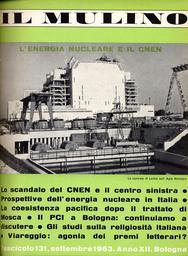 Copertina del fascicolo dell'articolo Il Cnen e gli scienziati