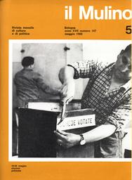 Copertina del fascicolo dell'articolo INAM, riforma sanitaria e interessi costituiti