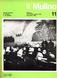 Copertina del fascicolo dell'articolo Le Chiese: situazione provvisoria