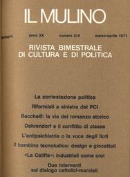 Copertina del fascicolo dell'articolo Teologia secolare e teologia secolarizzata