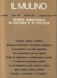 Copertina del fascicolo dell'articolo Un Ombudsman per le regioni