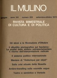 Copertina del fascicolo dell'articolo Il fascismo nelle analisi della sinistra extraparlamentare