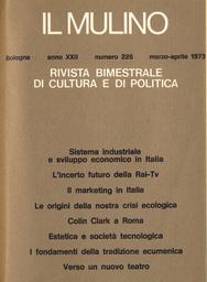 Copertina del fascicolo dell'articolo I fondamenti della tradizione ecumenica