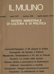 Copertina del fascicolo dell'articolo Contrastanti sviluppi delle biblioteche italiane