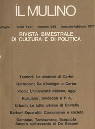 Copertina del fascicolo dell'articolo Il mercato cinematografico in Emilia-Romagna: verso un circuito di piccole