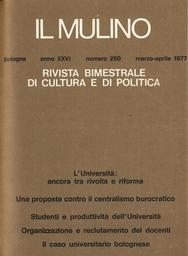 Copertina del fascicolo dell'articolo Il ruolo delle autonomie locali nella riforma dell'Università