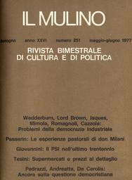 Copertina del fascicolo dell'articolo Magistratura e conflitti di lavoro