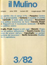 Copertina del fascicolo dell'articolo Il Psi e la politica economica